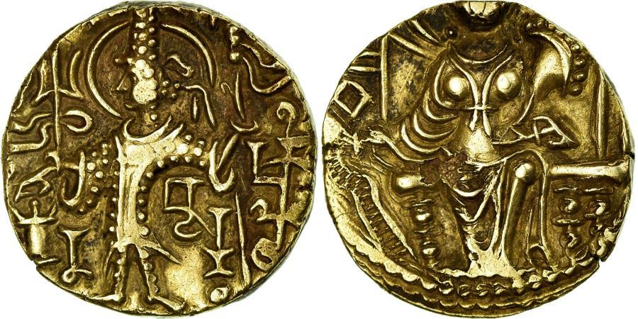 Ancient Coins - Coin, Kushan Empire, Vasu Deva II, Dinar, 290-310, , Gold