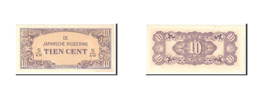 World Coins - MALAYA, 10 Cents, 1942, Undated, KM:M3b, UNC(65-70)