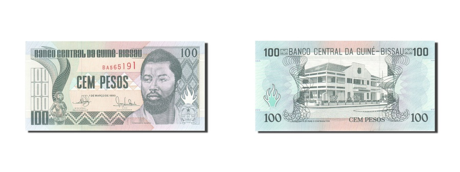 World Coins - Guinea-Bissau, 100 Pesos, 1990, KM:11, 1990-03-01, UNC(65-70)
