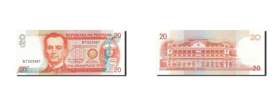 World Coins - Philippines, 20 Piso, 1998-1999, 2008, KM:182i, UNC(65-70)