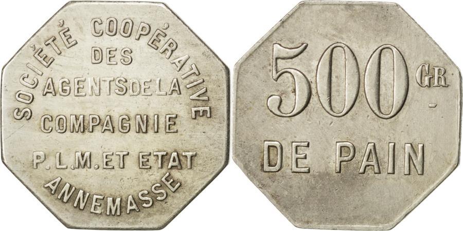 World Coins - Coin, France, 500 Grams, EF(40-45), Maillechort, Elie:15.1