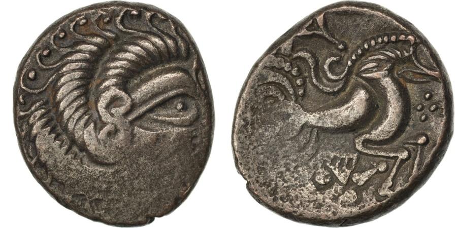 Ancient Coins - Coriosolites, Stater, , Billon, Delestré #2340, 6.00
