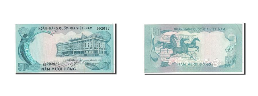 World Coins - South Viet Nam, 50 Dong, 1972, KM:30a, AU(55-58)