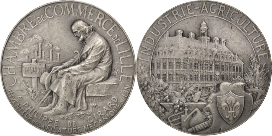 World Coins - FRANCE, Business & industry, French Third Republic, Medal, , Lefebvre,.