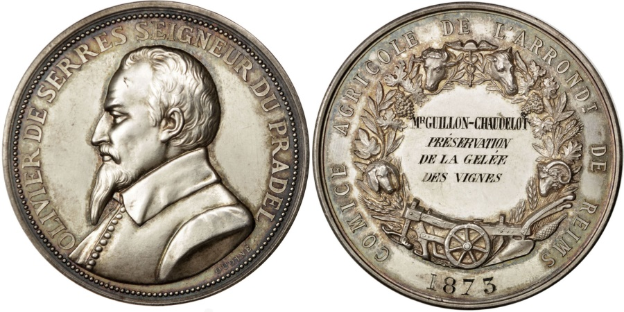 World Coins - FRANCE, Business & industry, French Third Republic, Medal, 1873, ,...