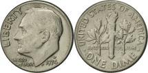 Us Coins - United States, Roosevelt Dime, Dime, 1974, U.S. Mint, Denver, EF(40-45)