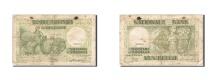 World Coins - Belgium, 50 Francs-10 Belgas, 1933-1935, KM:106, 1945-01-06, VF(20-25)