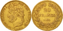 World Coins - France, Louis-Philippe, 20 Francs, 1835, Lille, EF(40-45), Gold, KM:750.5