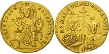 Constantine VII Porphyrogenitus, Solidus, Constantinople, AU(55-58), Gold
