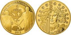 Ancient Coins - France, 5 Euro, Europa, 2012, Proof, , Gold, Gadoury:EU530, KM:1851