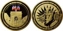 Us Coins - France, Medal, Seconde Guerre Mondiale, Victoire du 8 Mai 1945, MS(64), Copper