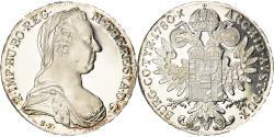 World Coins - Coin, Austria, Joseph II, Thaler, 1780, Vienna, Restrike, , Silver, KM:T1