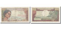 World Coins - Banknote, Madagascar, 500 Francs = 100 Ariary, 1966, KM:58a, VF(30-35)