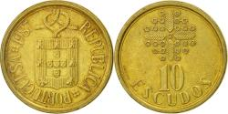 World Coins - Portugal, 10 Escudos, 1987, , Nickel-brass, KM:633