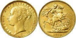 World Coins - Coin, Australia, Victoria, Sovereign, 1886, Sydney, , Gold, KM:7