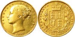 World Coins - Coin, Australia, Victoria, Sovereign, 1877, Sydney, , Gold, KM:6