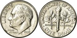 Us Coins - Coin, United States, Roosevelt Dime, Dime, 1995, U.S. Mint, Denver,
