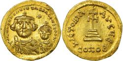 Coin, Heraclius, Solidus, 616-625, Constantinople, , Gold, Sear:738