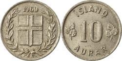 World Coins - Coin, Iceland, 10 Aurar, 1969, , Copper-nickel, KM:10