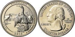 Us Coins - Coin, United States, Everglades, Quarter, 2014, Philadelphia,