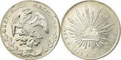 World Coins - Coin, Mexico, 8 Reales, 1893, Mexico City, , Silver, KM:377.10