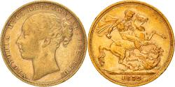 Ancient Coins - Coin, Great Britain, Victoria, Sovereign, 1872, London, , Gold