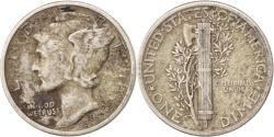 Us Coins - United States, Mercury Dime, Dime, 1941, U.S. Mint, Philadelphia,