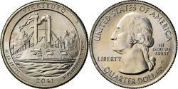 Us Coins - Coin, United States, Vicksburg, Quarter, 2011, U.S. Mint, Denver,