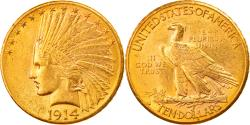Us Coins - Coin, United States, Indian Head, $10, Eagle, 1914, Denver, , Gold