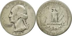 Us Coins - Coin, United States, Washington Quarter, Quarter, 1947, U.S. Mint, Philadelphia