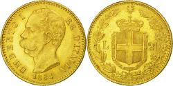 Ancient Coins - Coin, Italy, Umberto I, 20 Lire, 1884, Rome, , Gold, KM:21