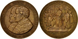 World Coins - Germany, Berlin reformation 300th anniversary, Medal, 1839, , Bronze