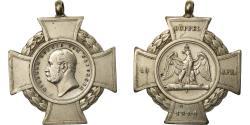 World Coins - Germany, Düppel, Wilhelm Koenig von Preussen, Danish Prussian War, Token, 1864