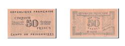 World Coins - Algeria, 50 Francs, 1943, EF(40-45)