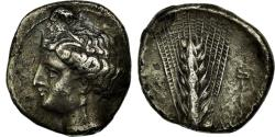 Ancient Coins - Coin, Demeter, Didrachm, Metapontion, , Silver, SNG ANS:400