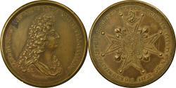 World Coins - France, Medal, Louis XIV, Institution de l'Ordre Militaire de Saint-Louis