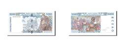 World Coins - West African States, 5000 Francs, 1994, KM:613Hb, Undated, UNC(65-70)