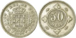 World Coins - Coin, Portugal, Carlos I, 50 Reis, 1900, , Copper-nickel, KM:545
