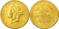 Us Coins - Coin, United States, Liberty Head, $20, Double Eagle, 1904, Philadelphia, Gold