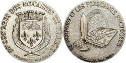 World Coins - France, Token, 80ème Congrès des Notaires de France, Versailles, 1984