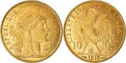 Ancient Coins - Coin, France, Marianne, 10 Francs, 1910, Paris, , Gold, KM:846