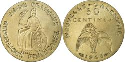 World Coins - Coin, New Caledonia, 50 Centimes, 1948, Paris, ESSAI, , Nickel-Bronze