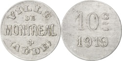World Coins - France, 10 Centimes, 1919, , Aluminium, Elie #10.4, 1.33