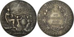 World Coins - France, Medal, Chambre de Commerce de Dieppe, 1907, Delpech, , Silver