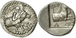 Ancient Coins - Coin, Thessalus, son of Haemon, Hemidrachm, EF(40-45), Silver, HGC:4-291