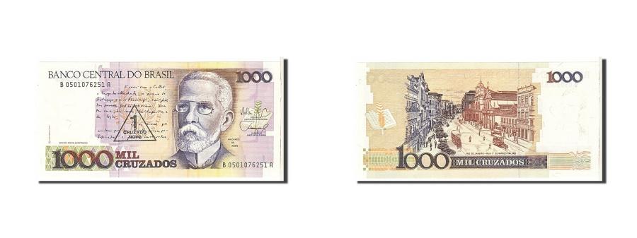 World Coins - Brazil, 1000 Cruzados, 1987, KM #213b, UNC(65-70), B0501076251A