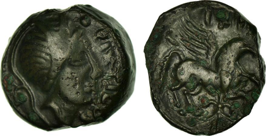 Ancient Coins - Coin, Carnutes, Bronze Æ, EF(40-45), Bronze, Delestrée:2465