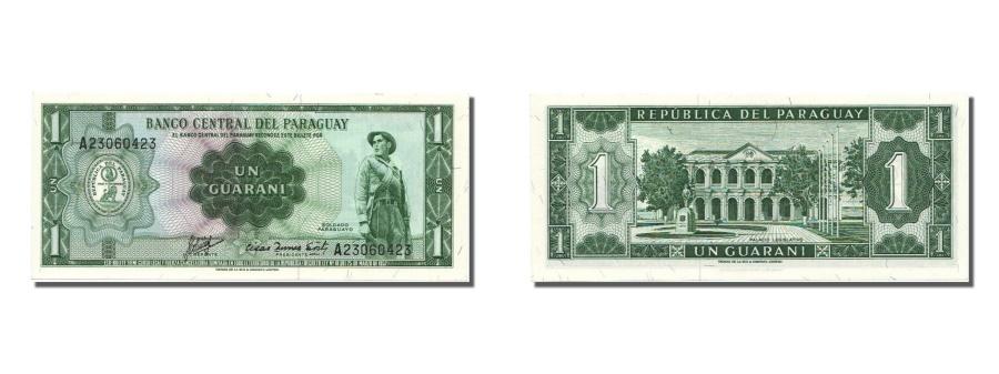 World Coins - Paraguay, 1 Guaraní, 1963, KM #193b, 1963-08-01, UNC(65-70), A