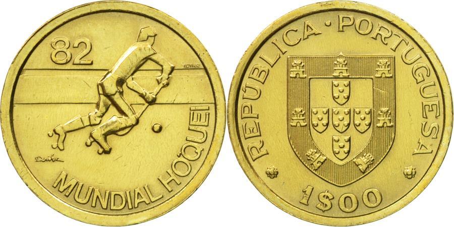 World Coins - Coin, Portugal, Escudo, 1983, , Nickel-brass, KM:612
