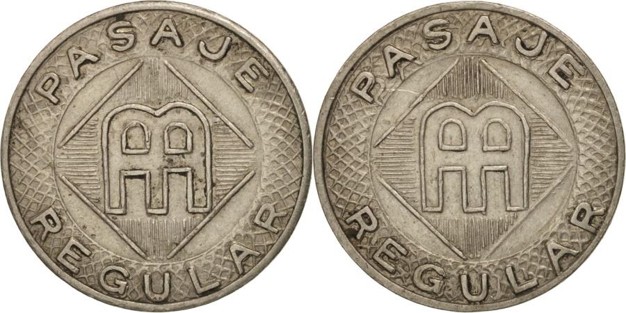 US Coins - United States, Token, Pasaje Regular